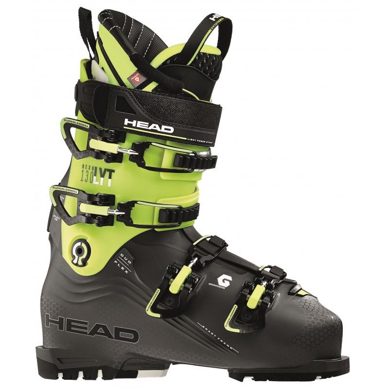 Buty narciarskie HEAD NEXO LYT 130 G Anthracite Yellow 2019