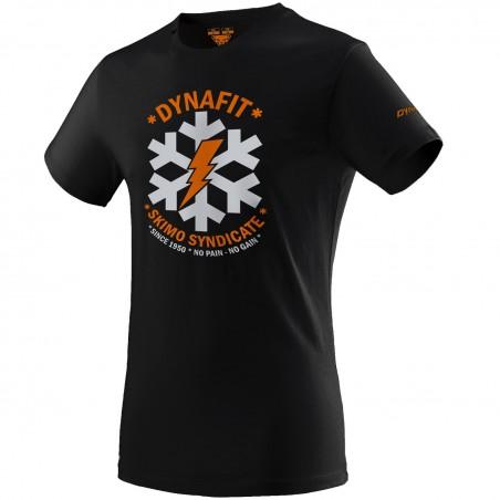 Koszulka DYNAFIT GRAPHIC COTTON S/S TEE MEN Black Out Syndicate 2020