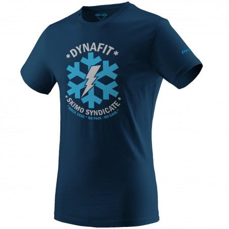 Koszulka DYNAFIT GRAPHIC COTTON S/S TEE MEN Poseidon Syndicate   SKLEP NARTY WARSZAWA