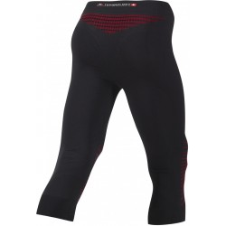 Kalesony 3/4 X-Bionic Energizer MK2 Man Pants Medium Black Red