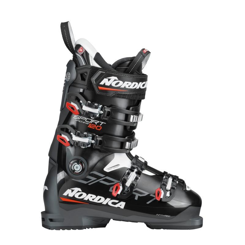 Buty narciarskie NORDICA Sportmachine 120 Black Anthracite Red 2021   Sklep Narty Warszawa