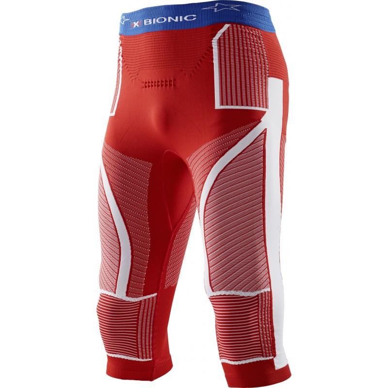 Kalesony 3/4 X-Bionic Acumulator Evo Patriot Man Pants Medium USA