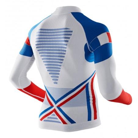 Koszulka X-Bionic Acumulator Evo Patriot Man Turtle Neck Francja